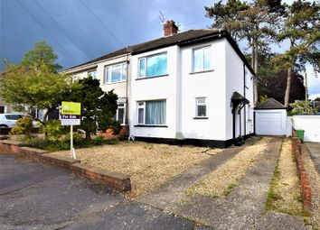 Thumbnail 3 bedroom semi-detached house for sale in Clos Fach, Rhiwbina, Cardiff.