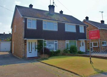 Thumbnail 3 bed semi-detached house for sale in Chaseside Avenue, Twyford, Reading