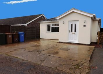 Thumbnail 3 bed bungalow to rent in Rainwalls Lane, Sutterton, Boston