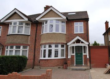 Thumbnail 4 bed semi-detached house to rent in Burnham Way, Ealing, London
