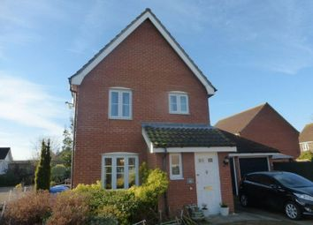 Thumbnail 3 bed detached house for sale in Jenner Close, Bungay