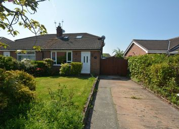 Thumbnail 3 bed semi-detached bungalow for sale in Ashdale Drive, Heald Green, Cheadle