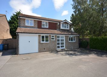 Thumbnail 4 bed detached house for sale in Halstock Crescent, Canford Heath, Poole