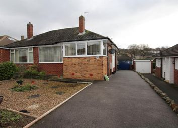 Thumbnail 2 bed semi-detached bungalow for sale in Moseley Wood Crescent, Cookridge, Leeds