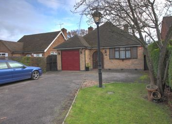Thumbnail 3 bed bungalow for sale in Hinckley Road, Leicester Forest East, Leicester