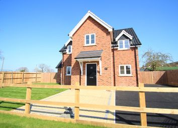 Thumbnail 3 bed detached house for sale in Stanton, Bury St Edmunds, Suffolk