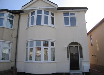 Thumbnail 3 bedroom end terrace house to rent in Hickman Road, Chadwell Heath, Romford