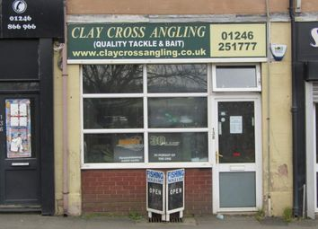 Thumbnail Retail premises for sale in High Street, Clay Cross, Chesterfield