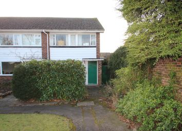 Thumbnail 3 bed end terrace house for sale in Sadlers Ride, West Molesey