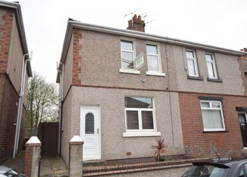 Thumbnail 3 bed semi-detached house for sale in Dundee Street, Barrow-In-Furness, Cumbria