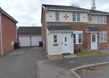 Thumbnail 3 bed semi-detached house for sale in Curlbrook Close, Wootton, Northampton, Northamptonshire