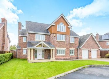 Thumbnail 5 bed detached house for sale in Hampstead Drive, Weston, Crewe, Cheshire