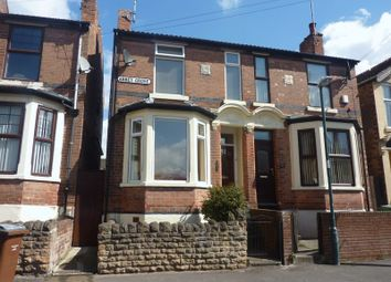 Thumbnail 2 bed semi-detached house to rent in Abbey Grove, Nottingham
