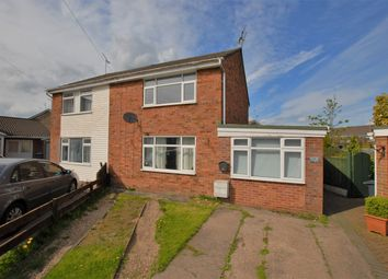 Thumbnail 2 bed semi-detached house for sale in Poplar Close, Uttoxeter