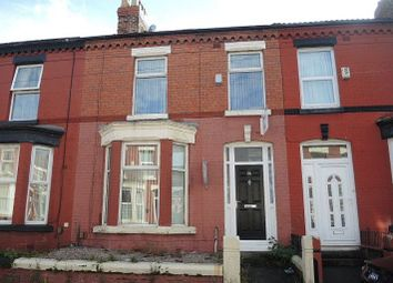 Thumbnail 4 bed terraced house for sale in Thorneycroft Road, Wavertree, Liverpool