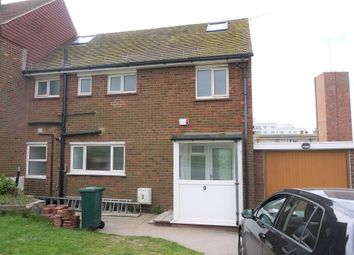 Thumbnail 6 bed end terrace house to rent in Roedean Road, Brighton