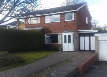 Thumbnail 3 bed semi-detached house for sale in Marlowe Road, Stafford, Staffordshire