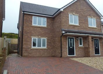 Thumbnail 3 bed semi-detached house to rent in Clos Cribyn, Beacon Heights, Merthyr Tydfil
