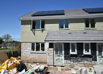 Thumbnail 3 bed semi-detached house for sale in Tolgus Mount, Tolgus, Redruth, Cornwall