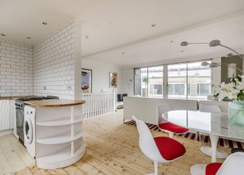 Thumbnail 3 bed flat to rent in Maclise Road, Brook Green