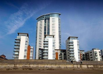 Thumbnail 1 bed flat to rent in Meridian Tower, Trawler Road, Swansea.