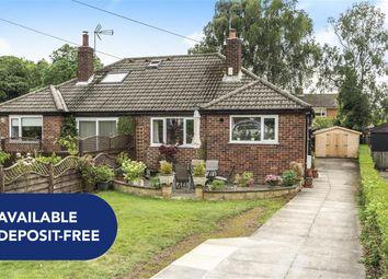 Thumbnail Bungalow to rent in Crossways Drive, Harrogate