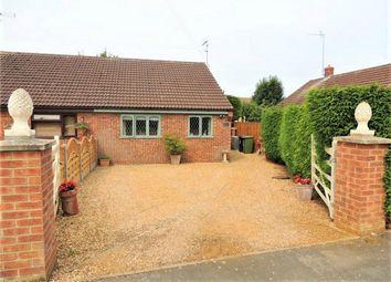 Thumbnail 2 bed semi-detached bungalow for sale in Bennett Close, Watlington, King's Lynn