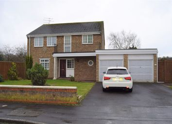 Thumbnail 4 bed detached house for sale in Wicks Close, Swindon