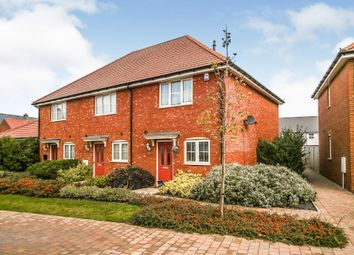 Thumbnail 2 bed end terrace house for sale in Wagtail Walk, Finberry, Ashford