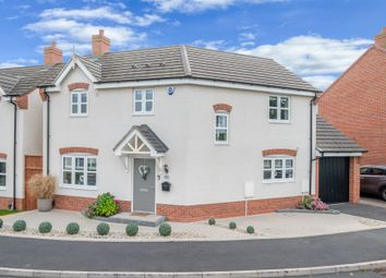 Thumbnail 3 bed detached house for sale in Burnham Road, Wythall, Birmingham