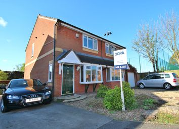 Thumbnail 3 bed semi-detached house for sale in Waterview Park, Leigh