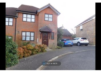 Thumbnail 3 bed semi-detached house to rent in Cherrywood Rise, Ashford