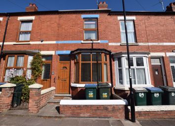 Thumbnail 2 bed terraced house to rent in Bristol Road, Earlsdon, Coventry