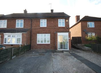 Thumbnail 3 bed semi-detached house for sale in Leyburn Road, Harold Hill, Romford