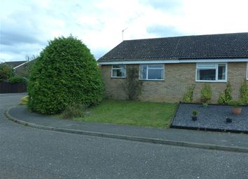 Thumbnail 2 bedroom semi-detached bungalow for sale in Scarlin Road, Bury St. Edmunds