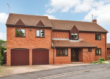 Thumbnail 4 bed detached house for sale in Wetherby Close, Queniborough, Leicester