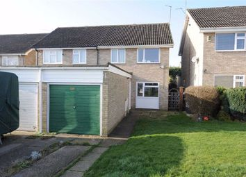 Thumbnail 3 bed semi-detached house to rent in The Banks, Wellingborough