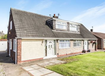 Thumbnail 2 bed semi-detached bungalow for sale in Trentbrooke Avenue, Hartlepool