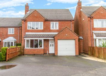 Thumbnail 4 bed detached house for sale in Lime Grove, Bagworth