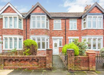 Thumbnail 3 bed terraced house for sale in Crompton Avenue, Blackpool, Lancashire