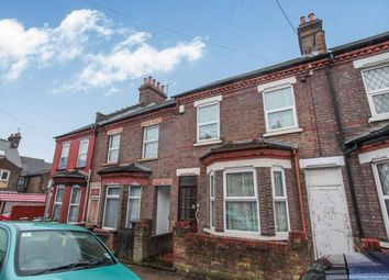 Thumbnail 3 bedroom terraced house for sale in Belmont Road, Luton, Bedfordshire