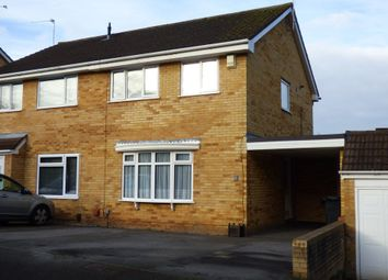 Thumbnail 3 bed semi-detached house for sale in Fallowfield, Warmley, Bristol