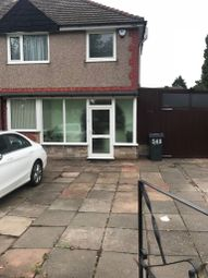 Thumbnail 3 bedroom semi-detached house to rent in Bromford Lane, Birmingham