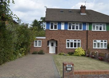 Thumbnail 4 bed semi-detached house to rent in Beechwood Close, Amersham, Little Chalfont