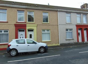 Thumbnail 4 bed terraced house to rent in Copperworks Road, Llanelli