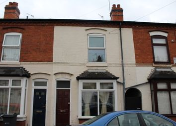 Thumbnail 3 bed terraced house for sale in Colbrook Road, Sparkhill, Birmingham