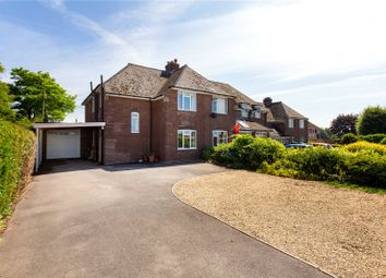 Thumbnail 4 bed semi-detached house for sale in New Road, Middle Wallop, Stockbridge, Hampshire