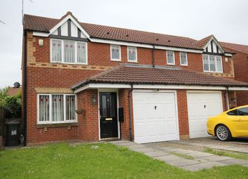 Thumbnail 3 bed semi-detached house to rent in Aidan Close, Holystone, Newcastle Upon Tyne