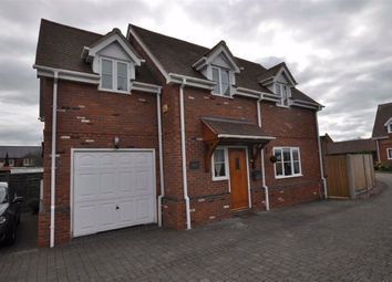 Thumbnail 3 bed detached house for sale in Hillview Drive, Hanley Swan, Worcester