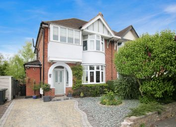 Thumbnail 3 bedroom semi-detached house for sale in Kenwood Road, Knighton, Leicester